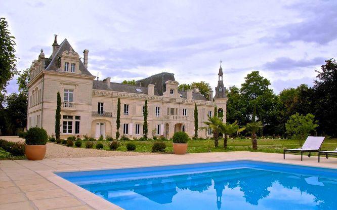 Château de Brillac - Piscine