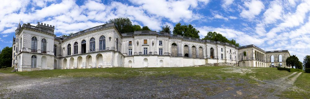 Château de la Mercerie - vue panoramique