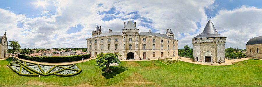 Château de Verteuil - vue panoramique