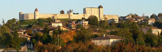 Château de Villebois-Lavalette - vue panoramique