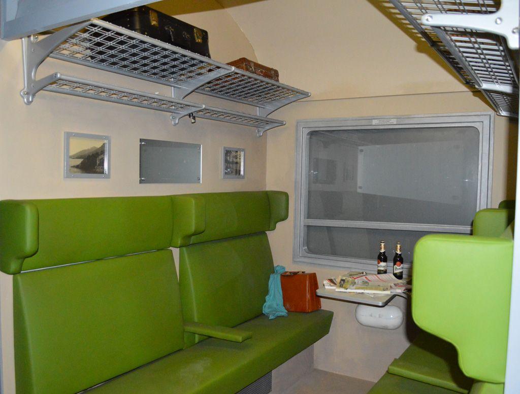 Intérieur de train