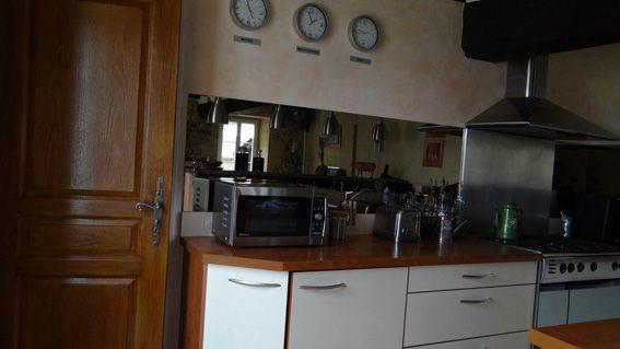 Maison charentaise restaurée - Cuisine