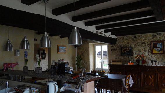 Maison charentaise restaurée - Salle à manger