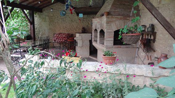 Maison charentaise restaurée - Terrasse