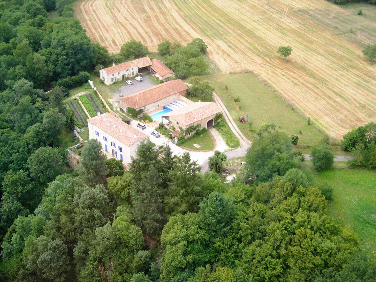 Propriété rurale maison de maître XVè XVIè siècle