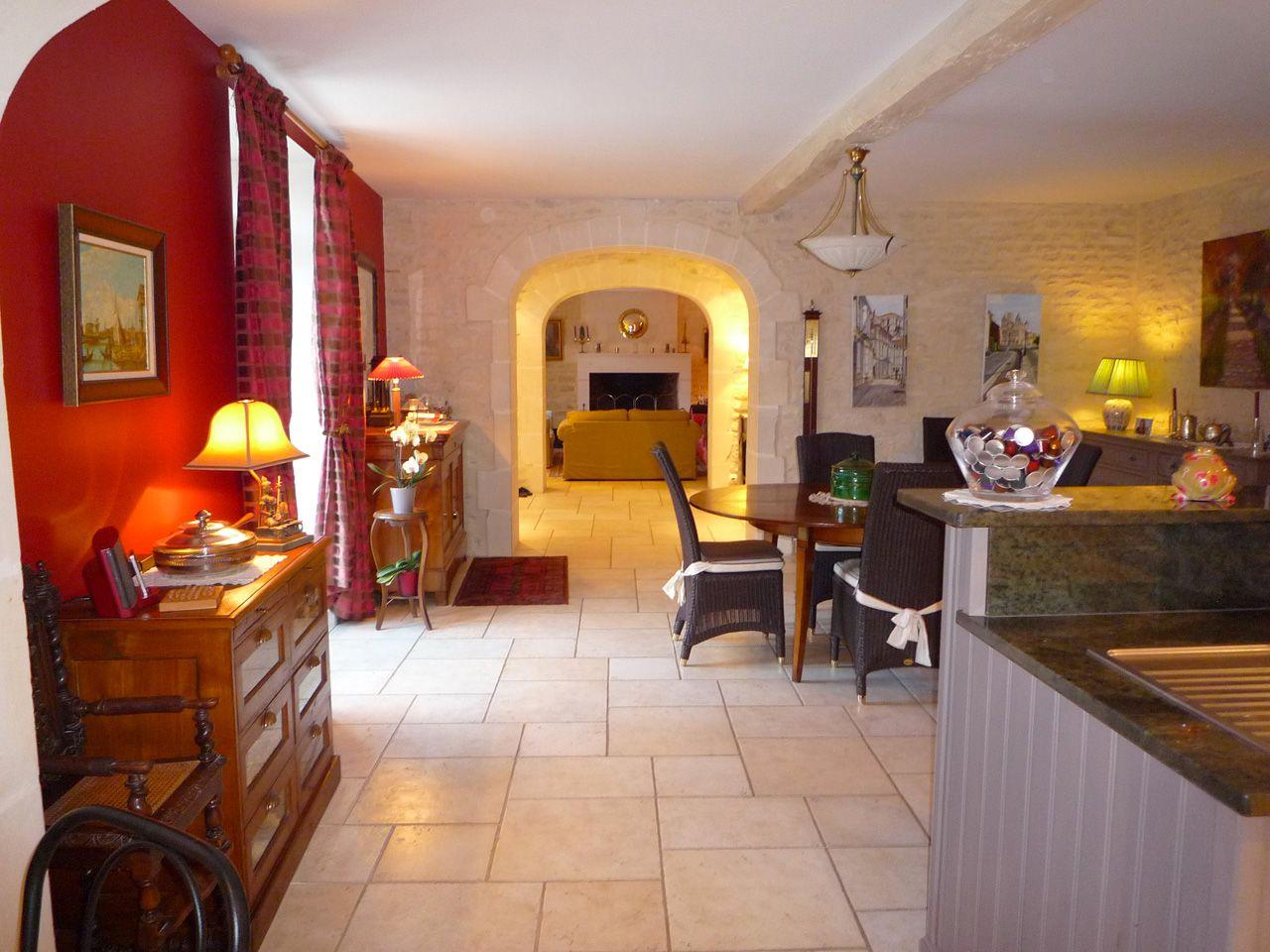 Maison traditionnelle charentaise - Intérieur
