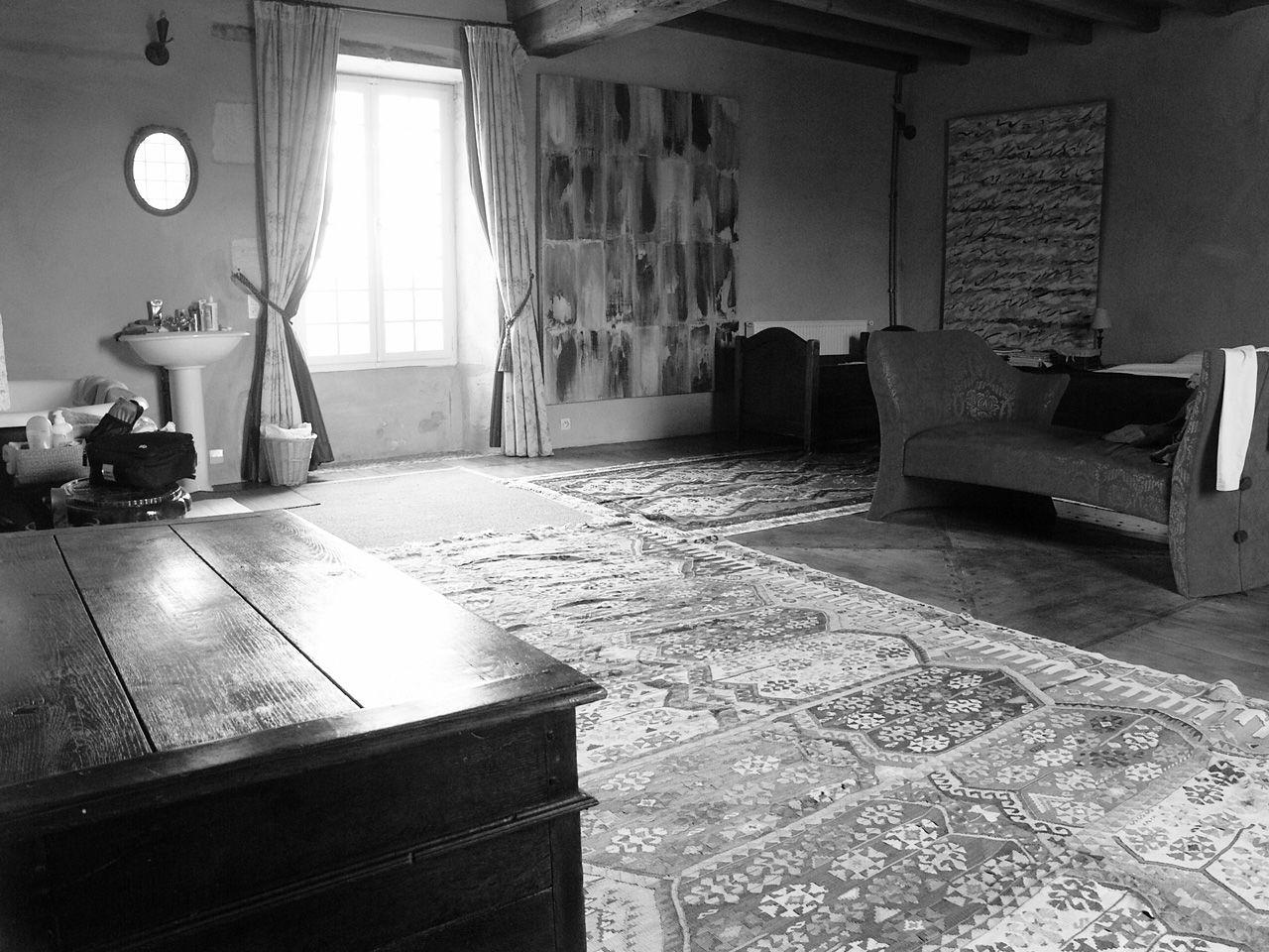 Propriété rurale maison de maître XVè XVIè siècle - Chambre