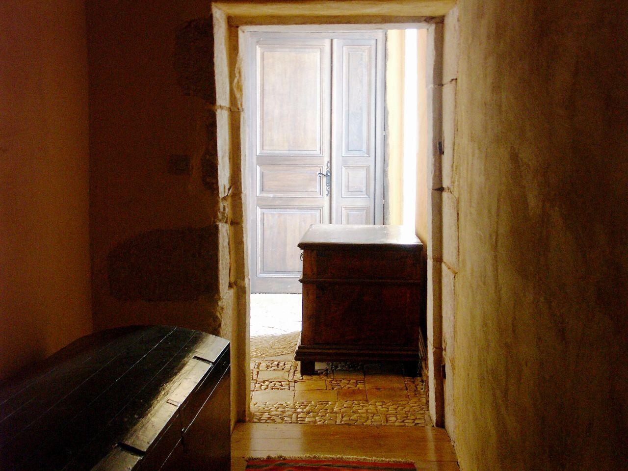 Propriété rurale maison de maître XVè XVIè siècle - Couloir