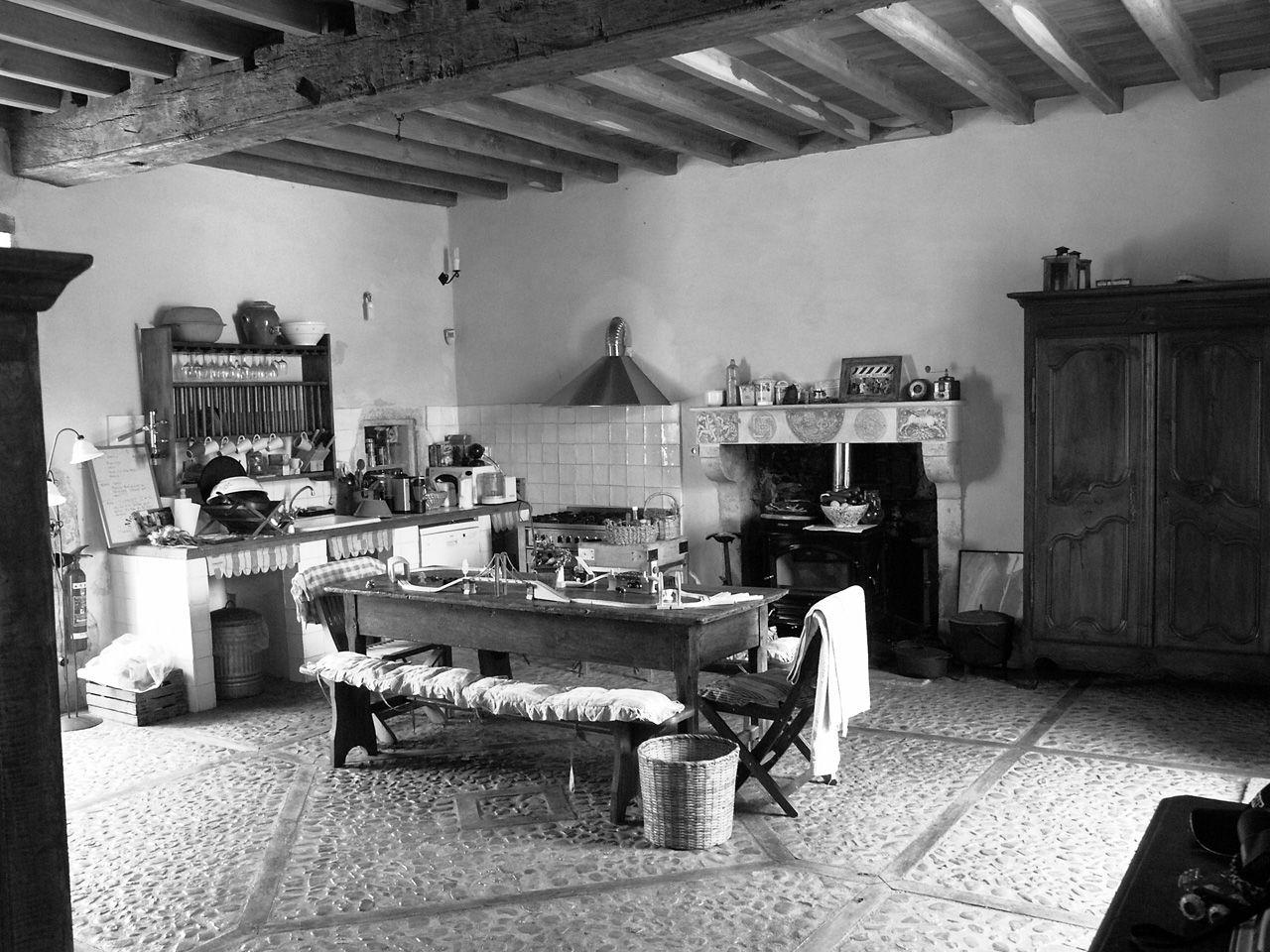 Propriété rurale maison de maître XVè XVIè siècle - Cuisine