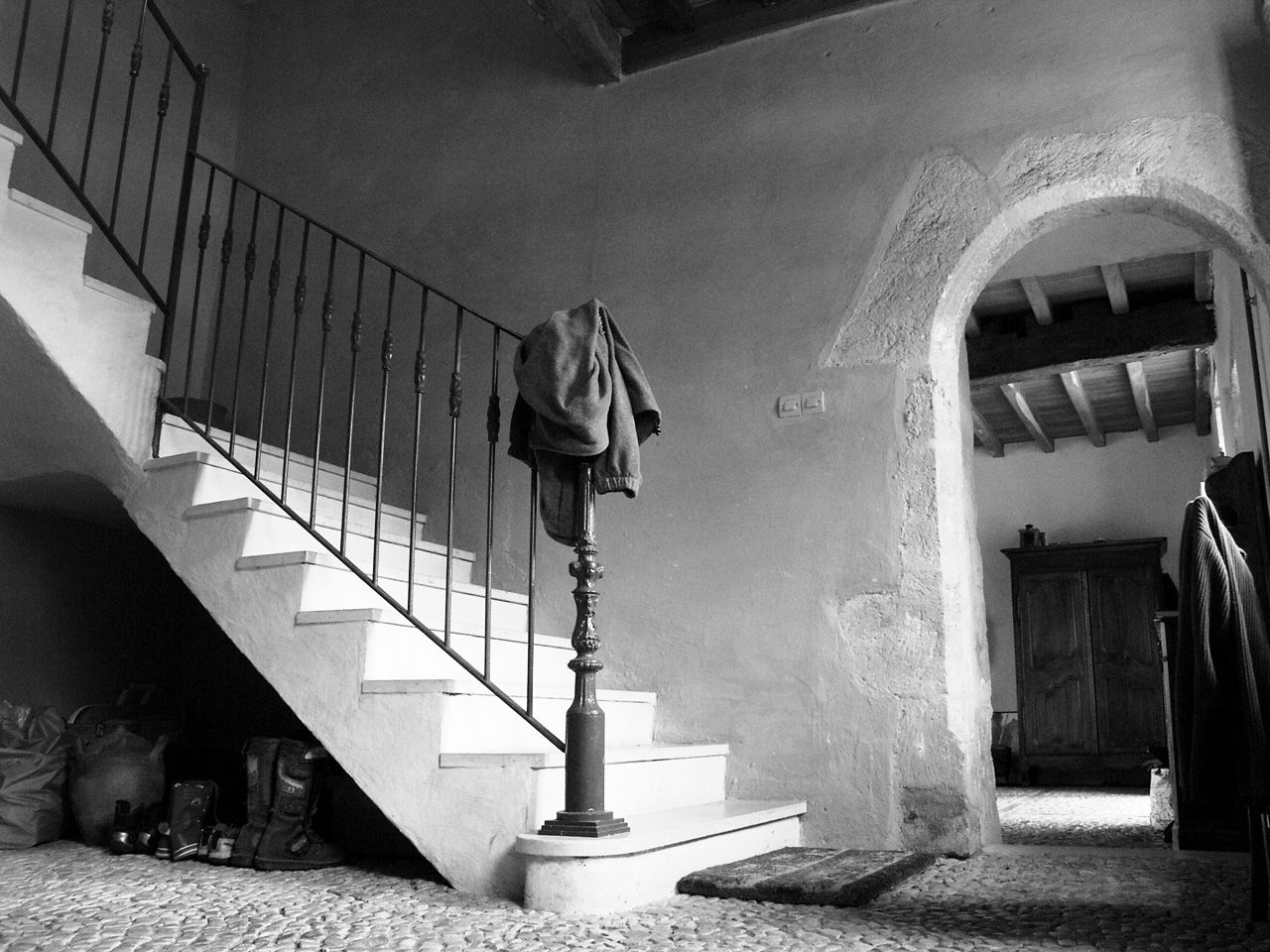 Propriété rurale maison de maître XVè XVIè siècle - Entrée