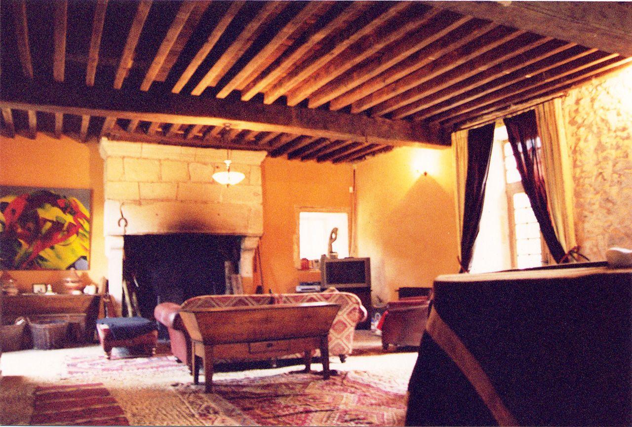 Propriété rurale maison de maître XVè XVIè siècle - Salon