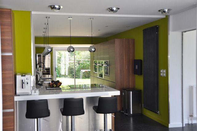 Villa des bois contemporaine - Cuisine