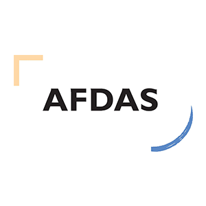 Afdas - Opca, Octa et Opacif agréé par l'État qui gère l'ensemble du dispositif de la formation professionnelle des secteurs du spectacle vivant, du cinéma, de l'audiovisuel, de la publicité, des loisirs, de la presse, des agences de presse et de l'édition.