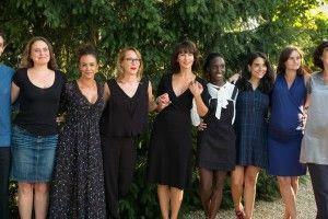 l'équipe du film La Taularde