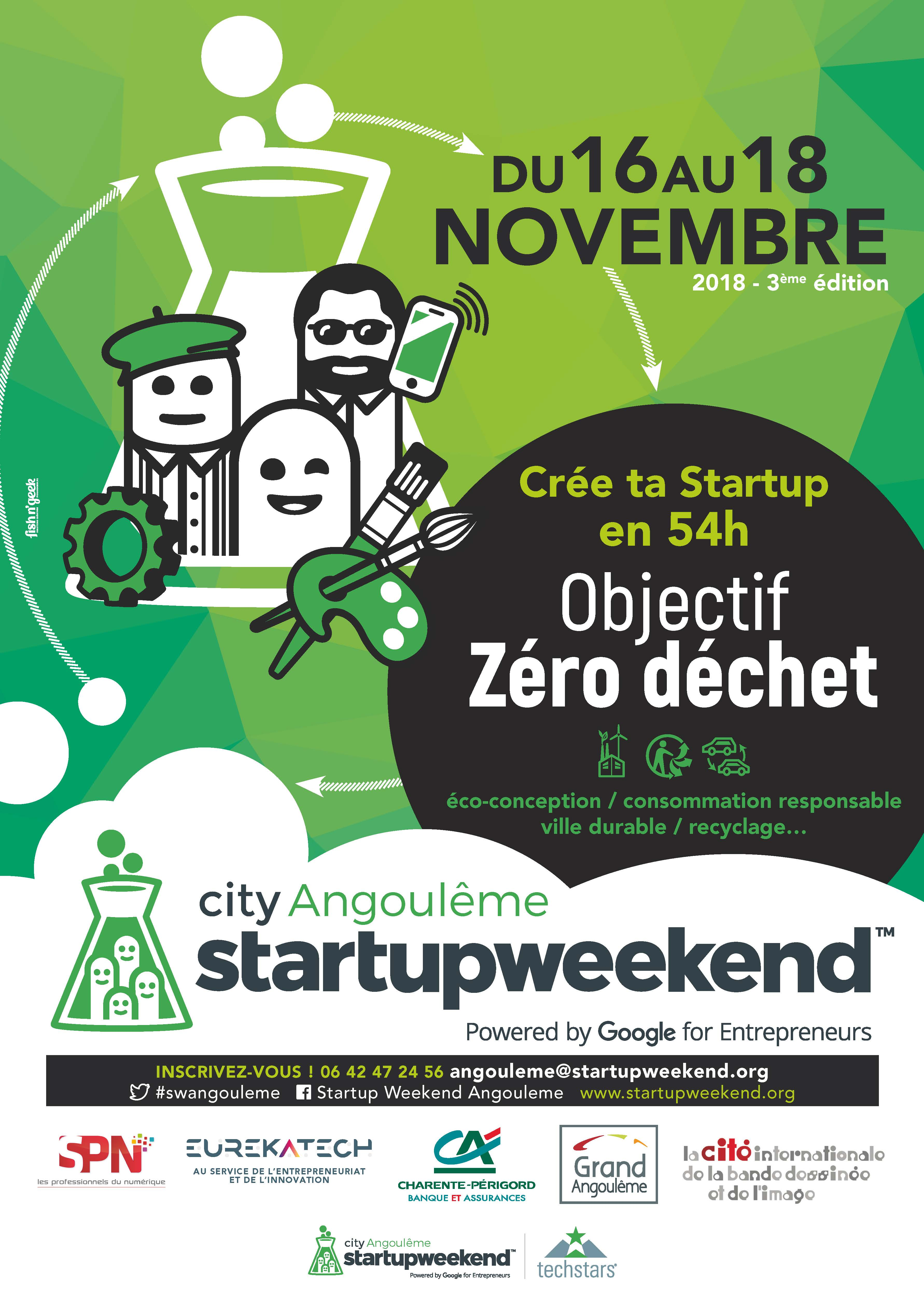 Startup Weekend Angouleme 3 Edition Magelis