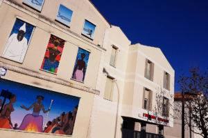 Auberge espagnole, murs peints