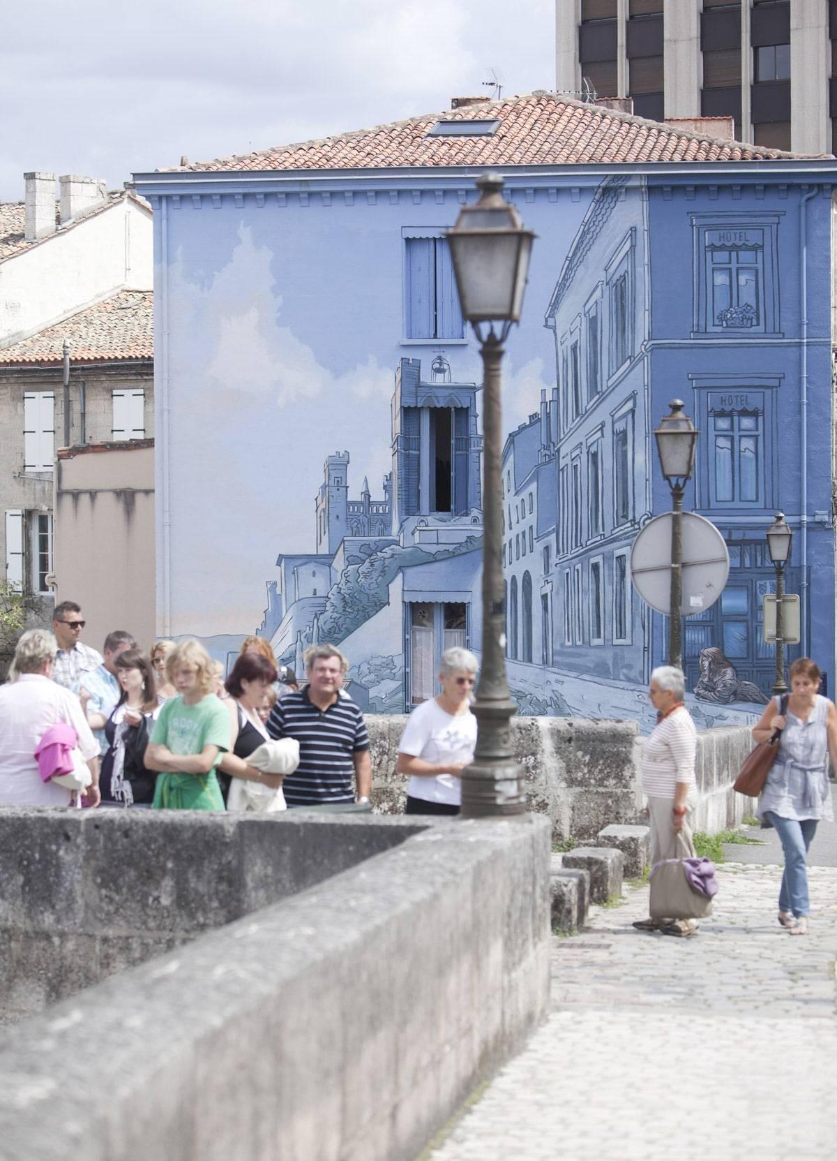 Circuit des murs peints - © LAVAL Sébastien - Charente-Tourisme