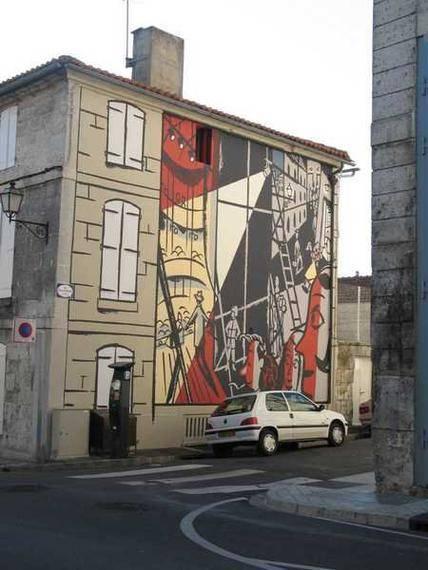 Mur Peint - Les coulisses du théâtre