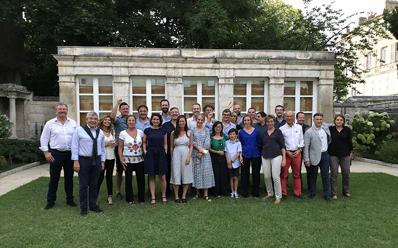 Une délégation de la région de Lazio (Italie) découvre le pôle image Magelis