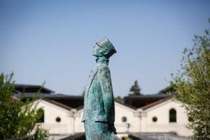 Statue Corto Maltesse - © Grégory Brandel