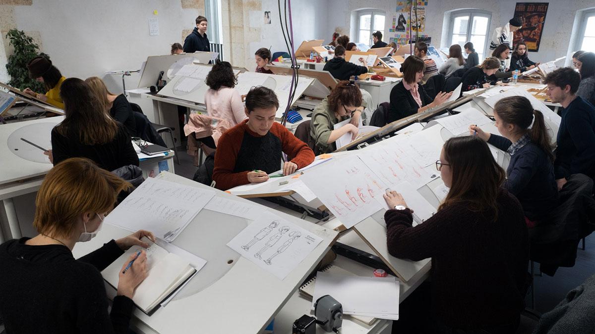L'Atelier, salle de cours
