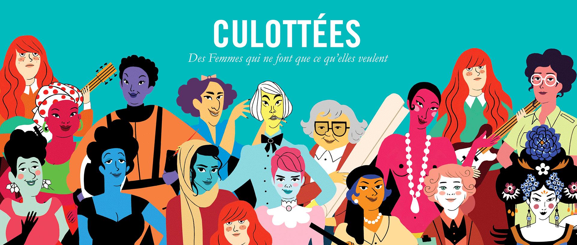 slide culottes