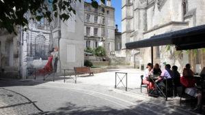 Terrasse du restaurant Le St André - © TURMEL Pauline