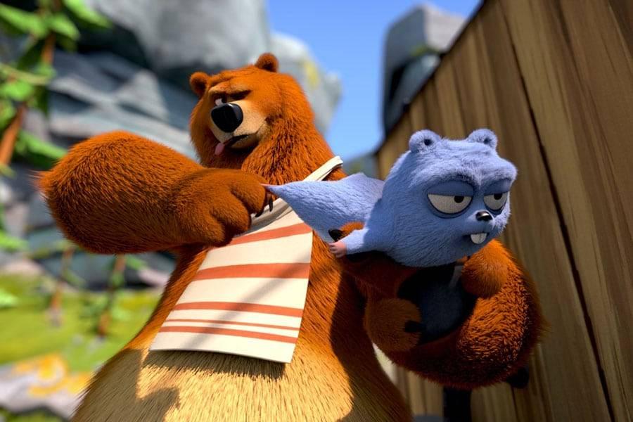 Animation - Grizzy et les lemmings